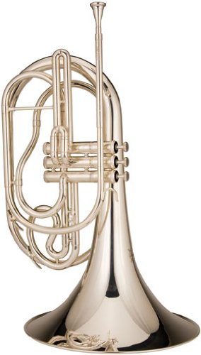 Ravel RMF202S Marching French Horn, Silver-Plated by Ravel
