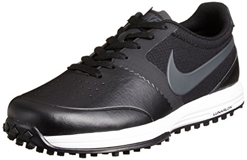 NIKE Golf Men's Lunar Mont Royal High Performance Golf Shoe, Black/Summit White/Anthracite, 10 D(M) US