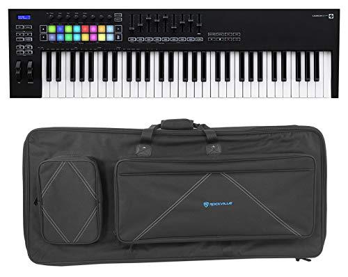 Novation Launchkey 61 MK3 61-Key USB MIDI Ableton Live Keyboard Controller+Case