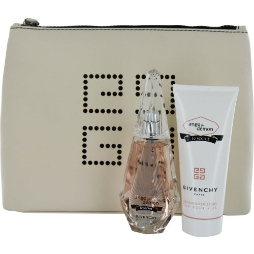 Ange Ou Demon Le Secret by Givenchy for Women 3 Piece Set Includes: 1.7 oz Eau de Parfum Spray + 3.3 oz Silky Body Veil + Travel (Silky Body Veil)