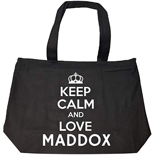 Keep Calm And Love Maddox - Tote Bag With Zip