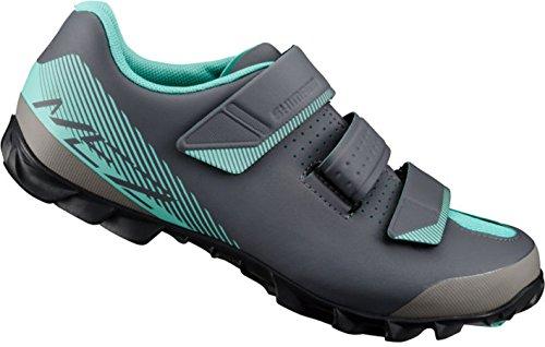SHIMANO SHME2PG430WL00 - Zapatillas ciclismo, 43, Negro - Verde, Mujer
