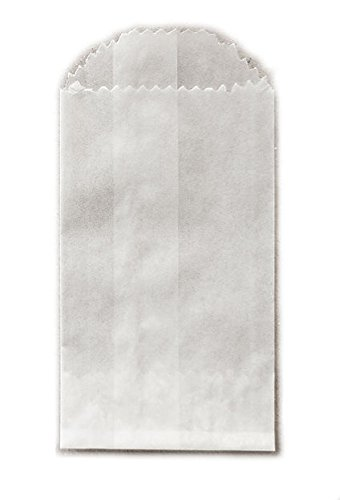 Mini Glassine Wax Paper Bags - 2 x 3 3/4 - 100 (Glassine Paper Bags)