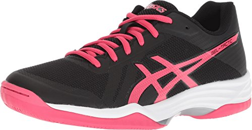 ASICS Women's Gel-Tactic 2 Performance Black/Pixel Pink 8 B US