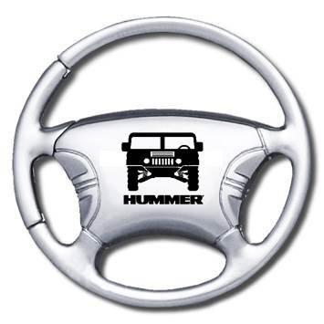 Wheel Holder Steering Key (Hummer Steering Wheel Key Chain - Key Fob)