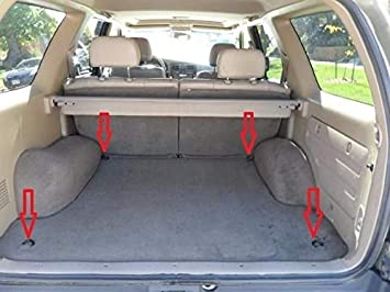 amazon com floor style trunk cargo net for toyota 4runner 1995 96 97 98 99 00 01 2002 new automotive floor style trunk cargo net for toyota 4runner 1995 96 97 98 99 00 01 2002 new