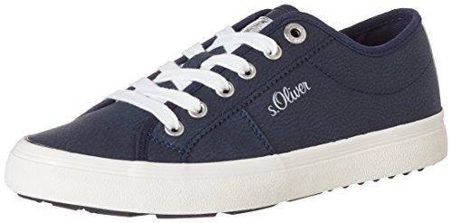 S.oliver Damen 23602 Sneaker Blau (nachtblauw)