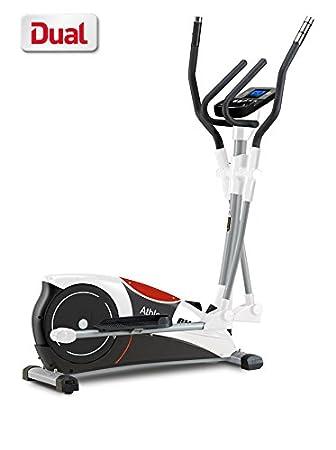 BH Fitness Athlon dual G2336U - Bicicleta elíptica - Sistema inercial 10 Kg - Programas -
