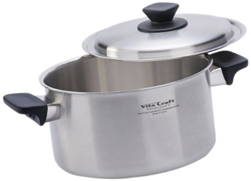 Vita craft 4 0 quart pan and cover set for Vita craft factory outlet