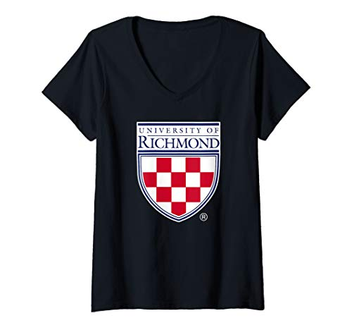 (Womens University Of Richmond Spiders NCAA PPRCH01 V-Neck T-Shirt)