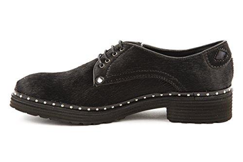 Melvin & Hamilton - Zapatos de cordones de Piel para mujer negro negro 37