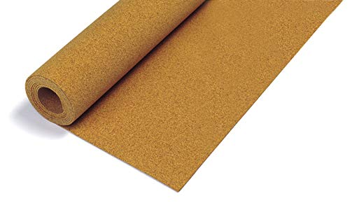 QEP 72000 Natural Cork Underlayment 1/4 inch Roll (Renewed)
