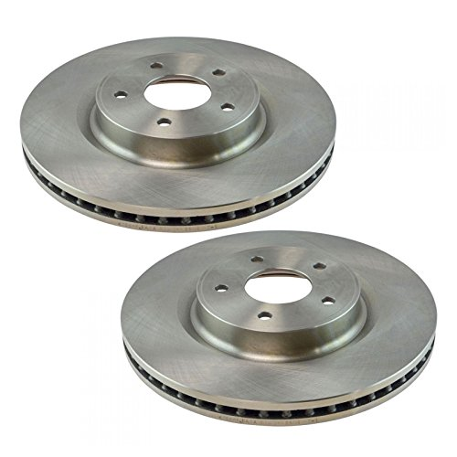 Brake Rotor Driver & Passenger Side Front Pair for Nissan Murano Pathfinder SUV