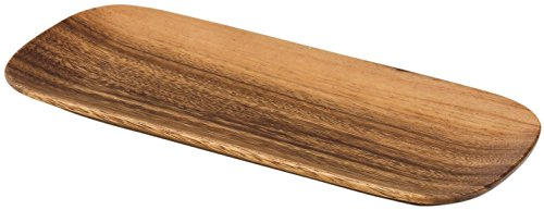 ading Acaciaware Oval Tray, 12-Inch by 5-Inch by 0.75-Inch (Medium Oval Tray)