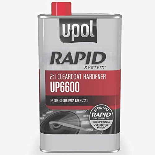 U-Pol 6600 Rapid System Clearcoat Hardener, 500 ml Tin