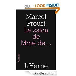 Le salon de Mme de... (French Edition) Proust Marcel
