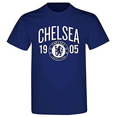 "Chelsea FC 1905 T-Shirt Authentic UK Merch (Large 42/44"")"
