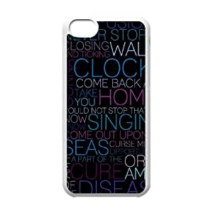 Hjqi - Custom Coldplay Phone Case, Coldplay Personalized Case for iPhone 5C