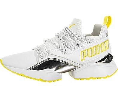 sports shoes b141b 43e50 Amazon.com  PUMA Muse Maia TZ Metallic  Shoes