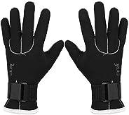 Swimming Diving Gloves, 3mm Neoprene Black Dive Sail Diving Gloves Surfing Swimming Glove Hand Protector