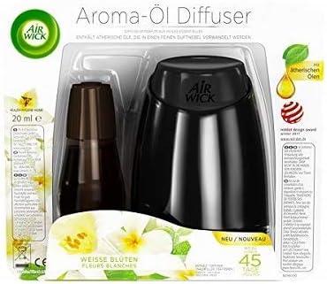 /& Aromalampe Duft Oellampe und 8 unterschiedliche Duftöle Blumenduft
