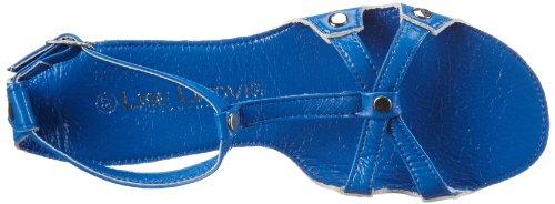 008 Lindvig femme 92 Sandales Lise 005 Blue Bleu Aqua 92 7qpf75