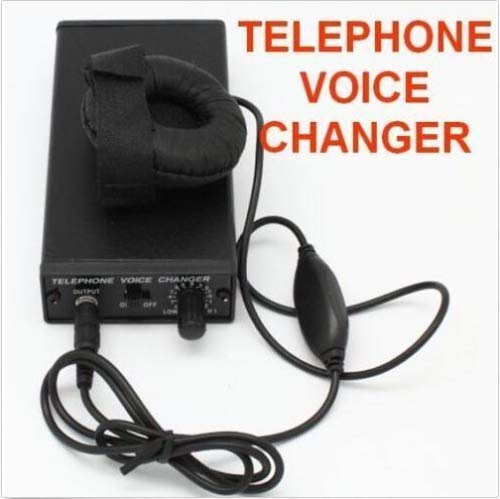 hotsell999 Telephone Voice Changer Professional Disguiser Phone Transformer Spy Bug Change