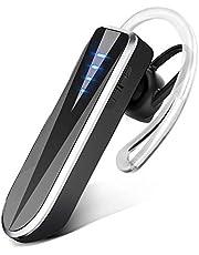 Auricolari Bluetooth, Auricolare Wireless Senza Fili da 30 Ore Utilizzo di 90 Giorni di Standby, Auricolare Wireless con Cancellazione del Rumore e Doppio Microfono