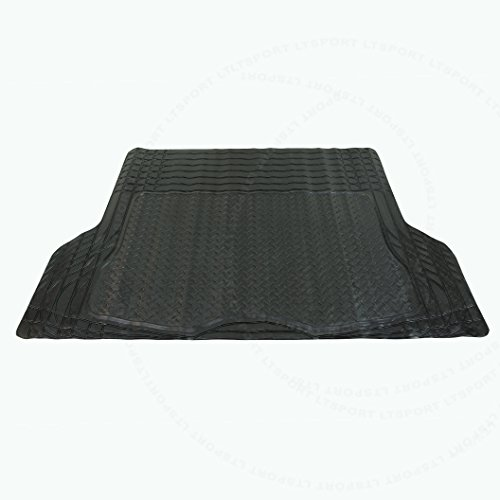 LT Sport SN#100000000845-327 for Toyota Camry/Corolla/RAV4/Sienna/MR2 Black Rubber Trunk Floor Mats