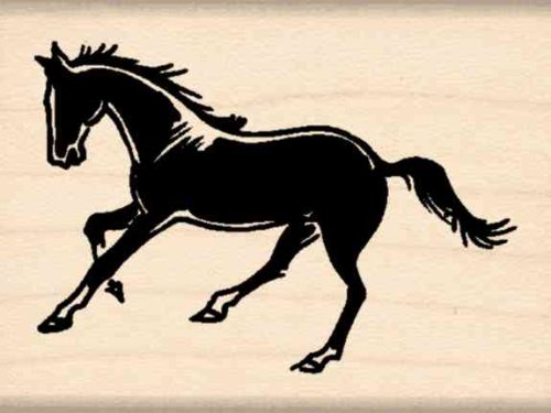 (Stamps by Impression Horse Rubber Stamp)