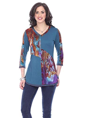 Parsley & Sage Women's Jasmine Tunic Top (Medium)