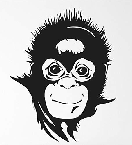 Monkey Transfer tattoos tattooing temporary tattoos Cute Face -