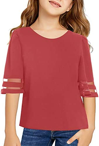 LookbookStore Sleeves Blouse Crewneck Shirts