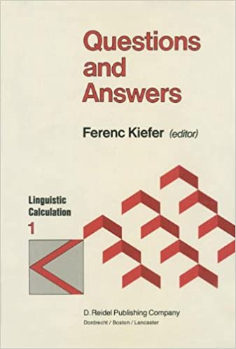 Questions and Answers (Linguistic Calculation): F  Kiefer
