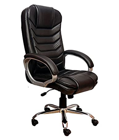 Nice Goods Trapeze High Back Leatherette Office Chair