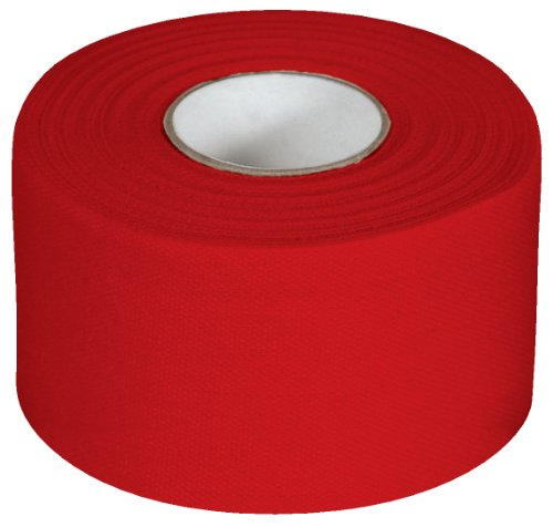 McDavid Zinc Oxide Two Pack 10-Yard Rolls Athletic Tape, Scarlet by McDavid