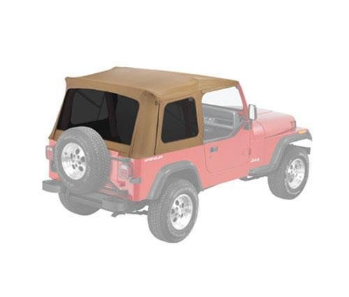 Bestop 55799-37 Spice Supertop Replacement Skins, Clear Windows- 1976-1995 Jeep CJ7 and Wrangler (Supertop Skin Replacement)