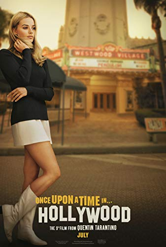 - Once Upon a Time in Hollywood B 11.5x17 Inch Promo Movie Poster Quentin Tarantino