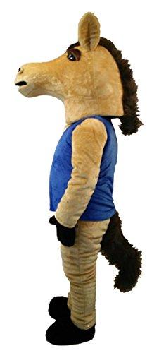 cool adult horse mascot costume