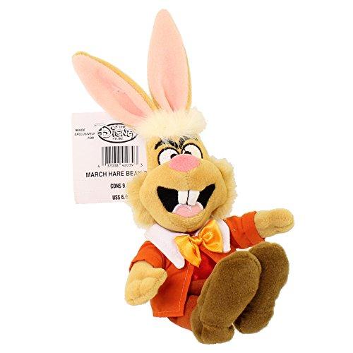 Disney Exclusive Alice in Wonderland March Hare Bean Bag -
