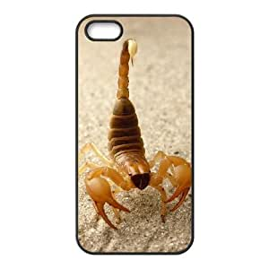 Customized case Of Scorpion Hard Case for iPhone 5,5S