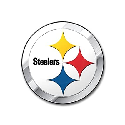 c0d3e827b Amazon.com   NFL Pittsburgh Steelers Die Cut Color Automobile Emblem ...