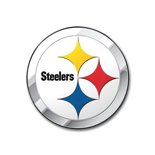 NFL Pittsburgh Steelers Die Cut Color Automobile Emblem
