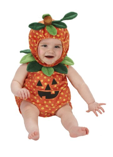 06 Costumes Month Halloween (Just Pretend Kids Infant Romper, 0-6 Months,)