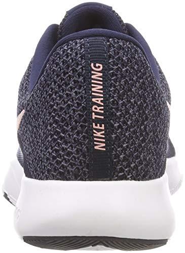 Multicolore 8 Donna Obsidian W Storm 402 Fitness Pink da Scarpe Nike Gridiron Flex Trainer H80wdtd