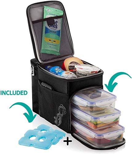 ZUZURO Lunch Insulated Cooler Compartment product image