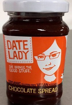 Date Lady Chocolate Spread 10.2 Oz (12 Pack) by Date Lady