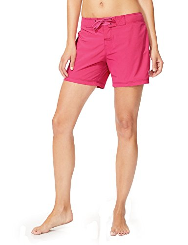 Baleaf Women's 5' Board Short with Built-in Liner Wild Berry Size S