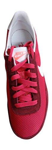 Nike Wmns Elite Textile - Zapatillas de deporte Mujer Verde (Dp Grnt / White-Fchs Frc-Brght M)