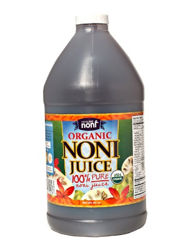 100% Pure Organic Hawaiian Noni Juice - 1/2 Gallon Jug 64oz (Noni Juice Concentrate compare prices)